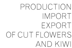Production, Import Export of cut flowers and kiwi